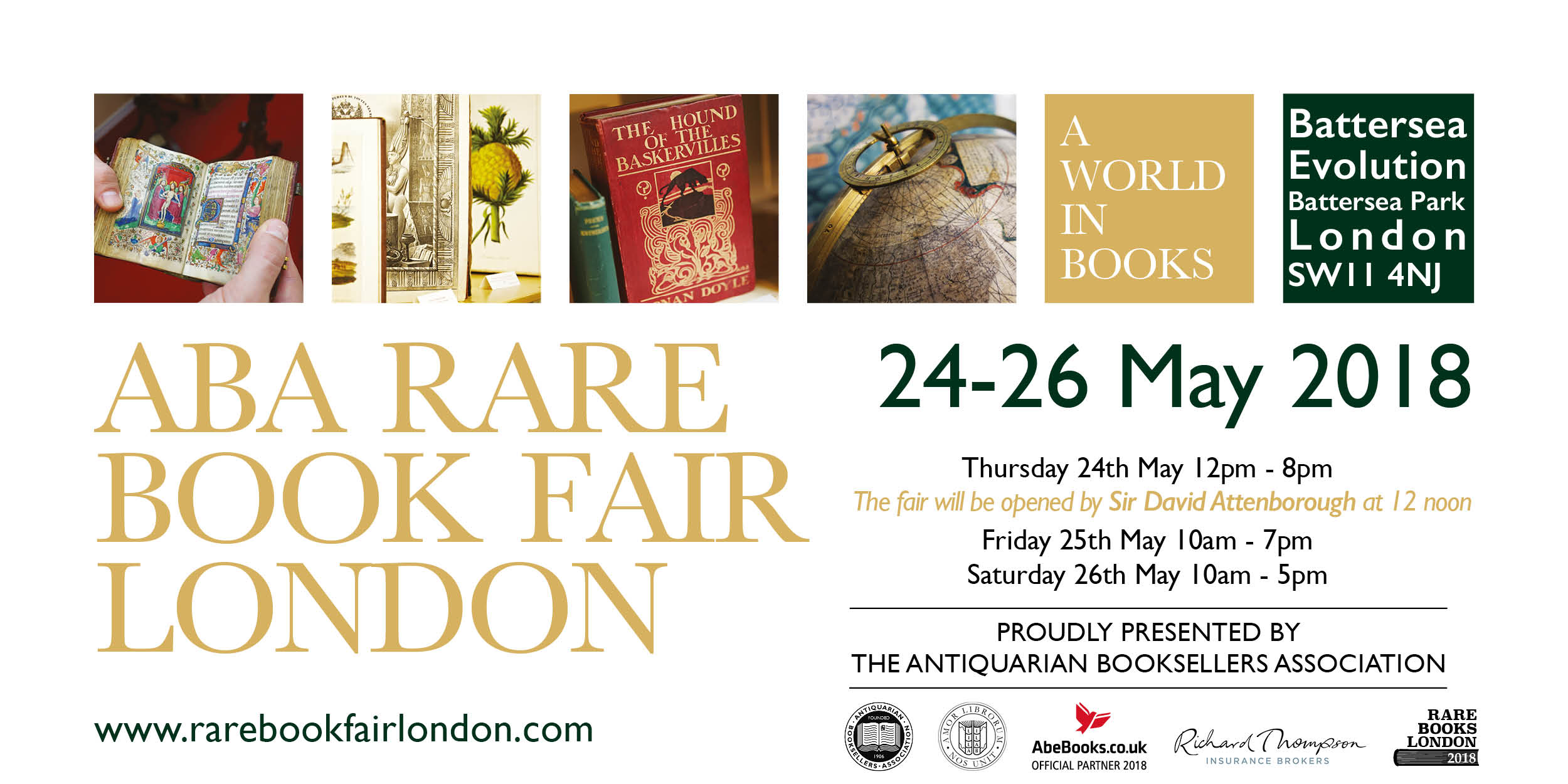 The ABA Rare Book Fair in London