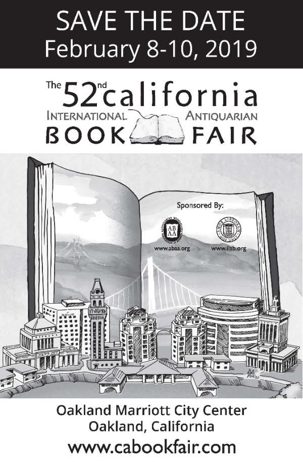 California International Antiquarian Book Fair 2019