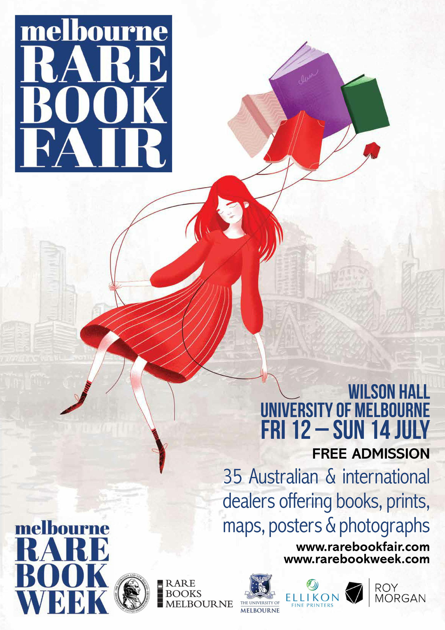 Melbourne Rare Book Fair 2019