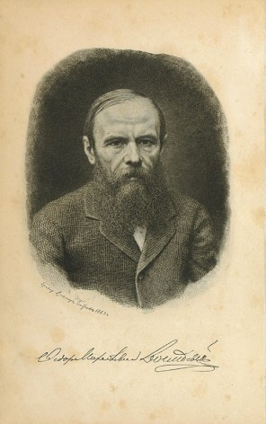 [FIRST BIOGRAPHY OF DOSTOEVSKY] Biografiya, pis'ma i zametki iz zapisnoi knizhki F.M. Dostoevskogo. S portretom F.M. Dostoyevskogo i prilozheniyami [i.e. Biography, Letters and Notes from F.M. Dostoevsky's notebook. With his Portrait and Applications]. Orest Miller.