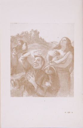[THE FATE OF JEWISH PEOPLE THROUGH MEER AXELROD'S SKETCHES AND PAINTINGS] Gezang fun mayn gemiṭ: 1941-1946 = Pesn' moei dushi [i.e. Song of My Spirit]