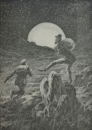 [MOON LANDING IN 1893] Na lune. Fantasticheskaya povest' [i.e. On the Moon. Fantastic Tale] / with original drawings by Gofman