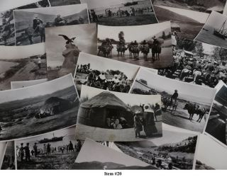 ASIA - KYRGYZSTAN] [Collection of Thirty-Three Original Photographs of the Early Years of Soviet...