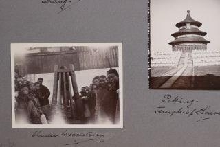 ASIA - CHINA] [Album of 206 Gelatin Silver Photographs of China Taken by a British Expat Showing...