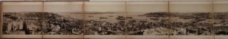 TURKEY - ISTANBUL] [Original Large Ten Part Albumen Photograph Panorama of Istanbul, Titled:]...
