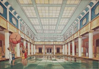 [PALACE FOR THE SOVIET YOUTH] Dvorets pionerov i oktiabriat [i.e. Palace of Pioneers and Octobrists]
