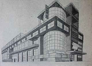 [AVANT-GARDE ARCHITECTURE OF WORKERS' CLUBS] Arkhitektura kluba [i.e. Architecture of the Club]