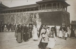 [CHINA - BEIJING] [Album of Seventy-Five Original Gelatin Silver Photographs of Beijing and...