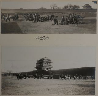 [CHINA - BEIJING] [Album of Seventy-Five Original Gelatin Silver Photographs of Beijing and Environs Taken by a German Officer during the First Years of the Republic of China]