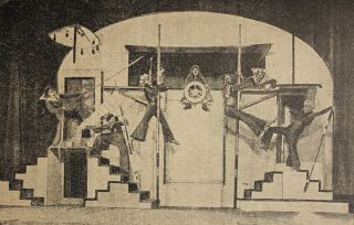 [EARLY SOVIET SET DESIGNERS] Khudozhnik v teatre [i.e. Artist in Theatre]