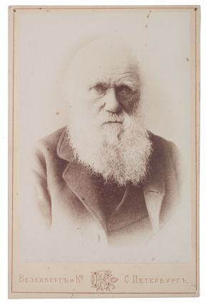 FOR THE RUSSIAN DARWINISTS] Photograph of Charles Darwin